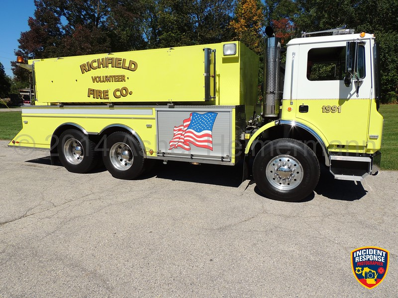 Richfield Fire Dept. Tender 1991