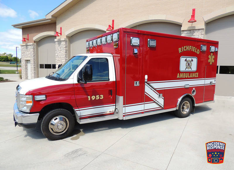 Richfield Fire Dept. Ambulance 1953