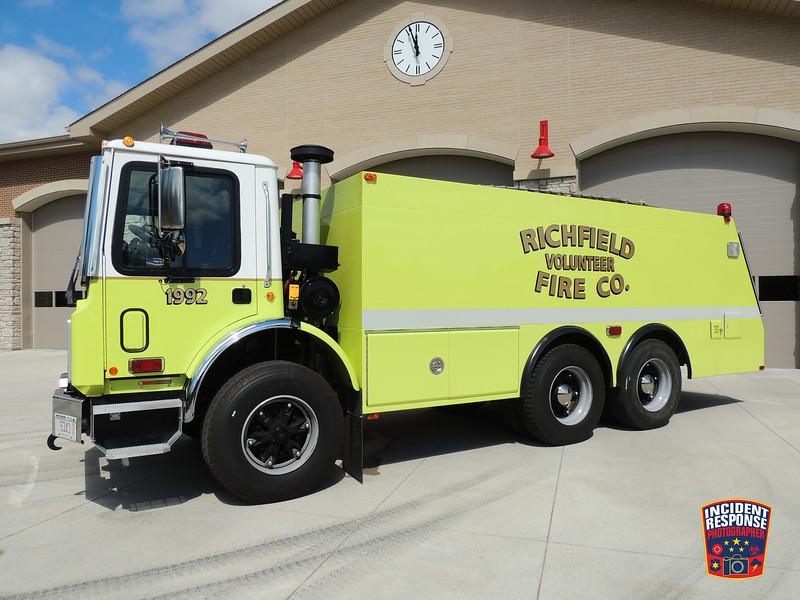 Richfield Fire Dept. Tender 1992