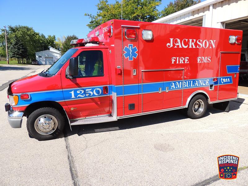 Jackson Fire Dept. Ambulance 1250