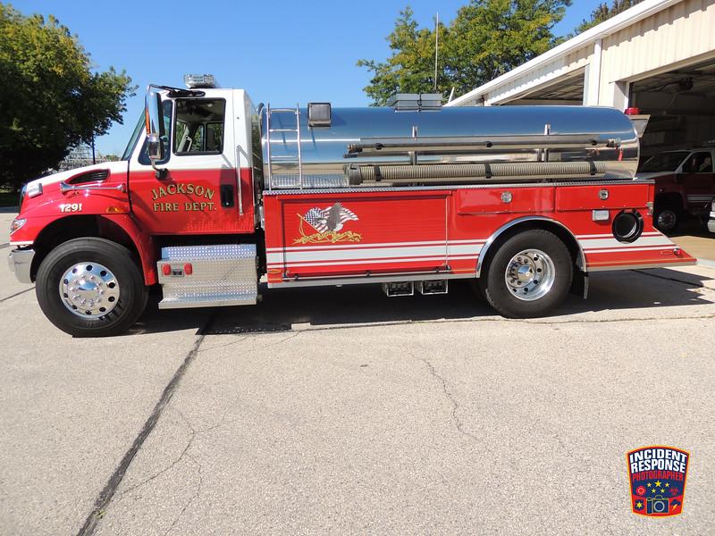Jackson Fire Dept. Tender 1291