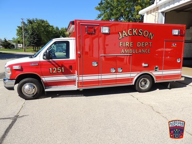 Jackson Fire Dept. Ambulance 1251