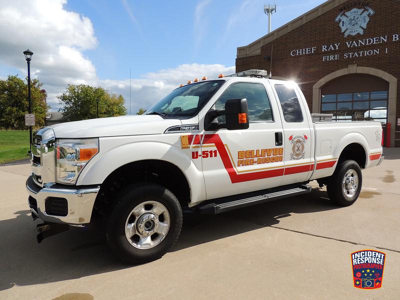 Bellevue Fire Dept. Utility Truck 511