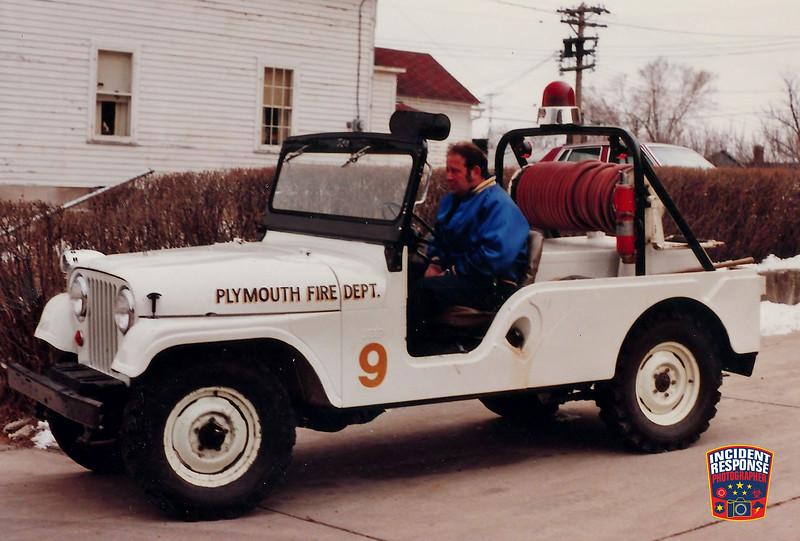 Plymouth Fire Dept. Brush Truck 9