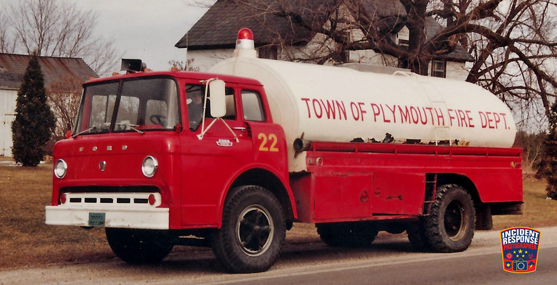 Plymouth Fire Dept. Tanker 22