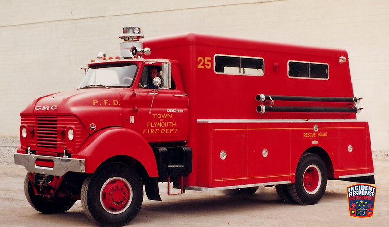 Plymouth Fire Dept. Rescue 25