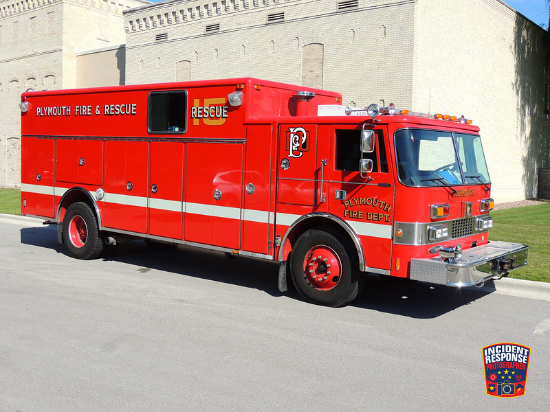 Plymouth Fire Dept. Rescue 15