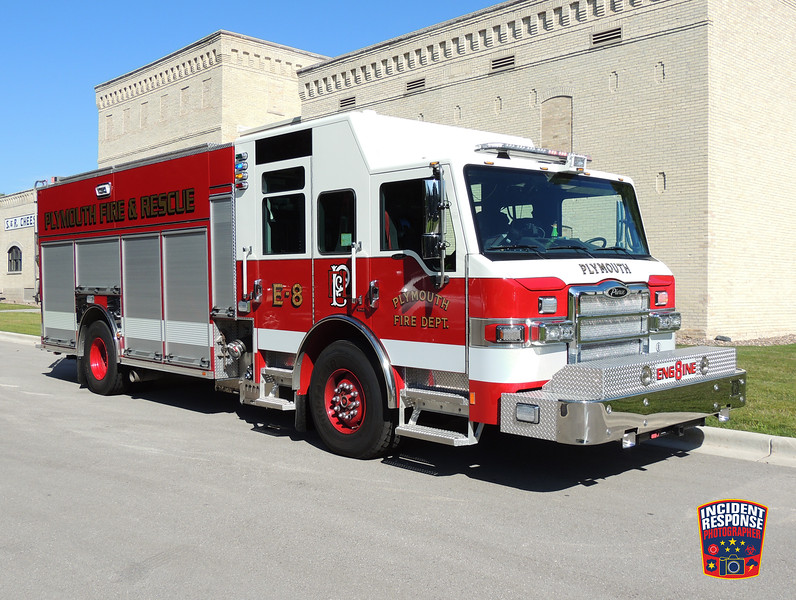 Plymouth Fire Dept. Engine 8