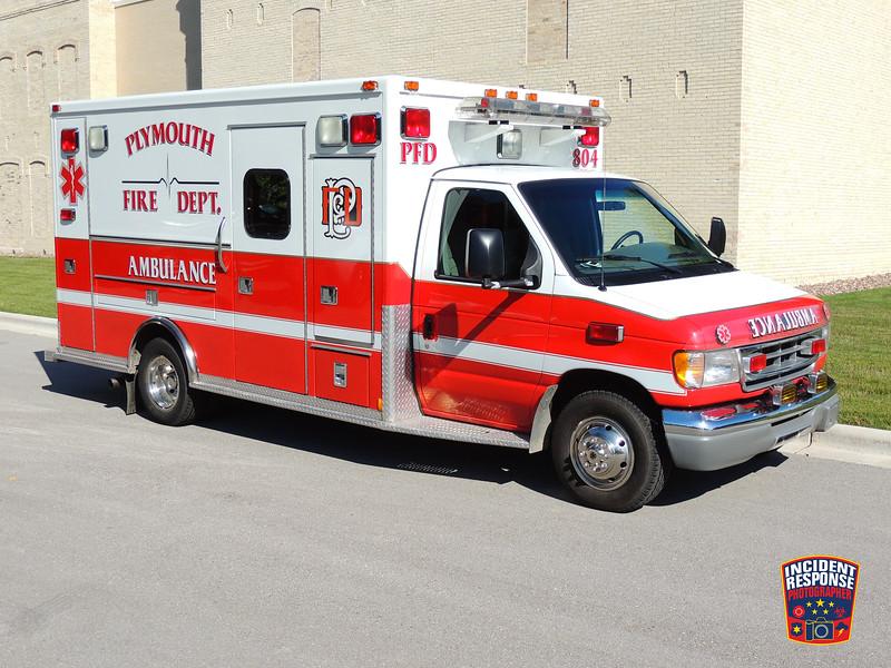 Plymouth Fire Dept. Ambulance 804