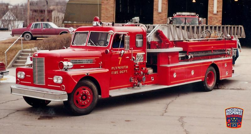 Plymouth Fire Dept. Ladder Truck 7