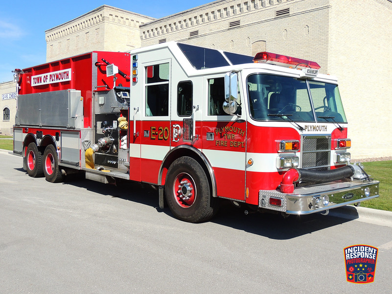 Plymouth Fire Dept. Engine 20