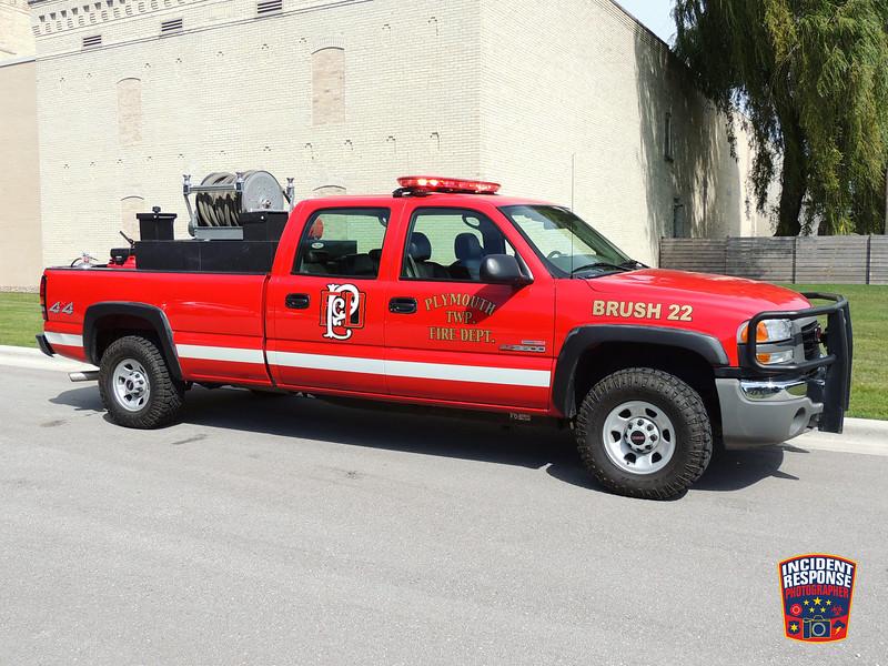 Plymouth Fire Dept. Brush Truck 22