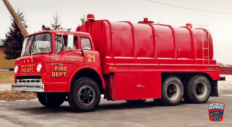 Plymouth Fire Dept. Tanker 21