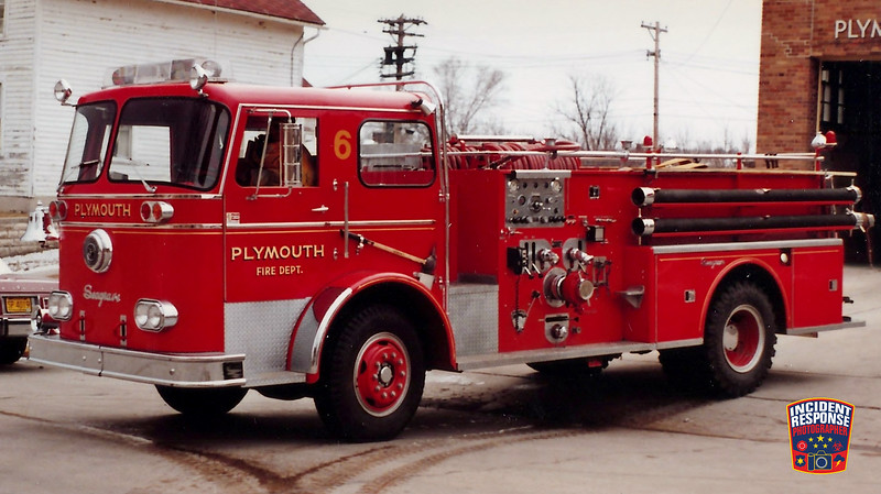 Plymouth Fire Dept. Engine 6