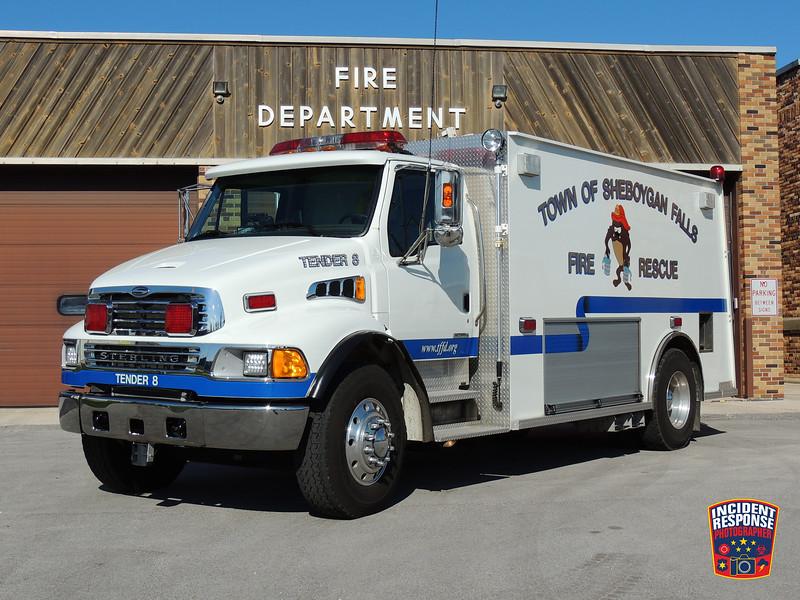 Town of Sheboygan Falls Fire Dept. Tender 8