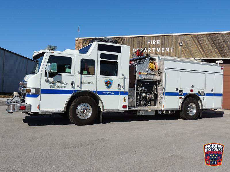 Town of Sheboygan Falls Fire Dept. Engine 4