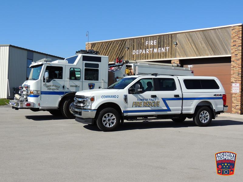 Town of Sheboygan Falls Fire Dept. Apparatus