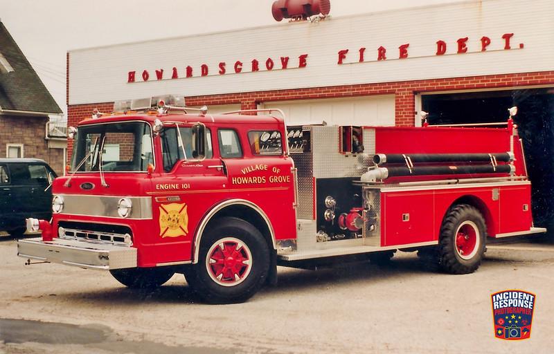 Howards Grove Fire Dept. Engine 101