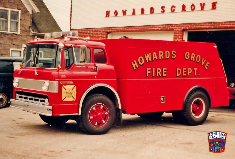 Howards Grove Fire Dept. Tanker 105
