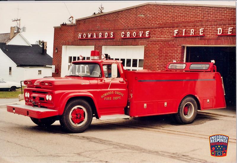 Howards Grove Fire Dept. Tanker 102