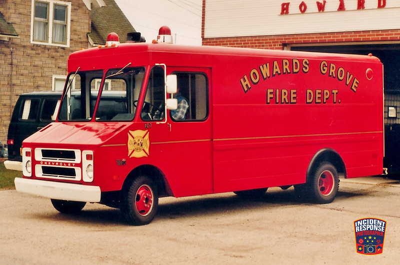 Howards Grove Fire Dept. Squad 107