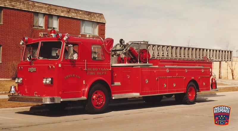 Sheboygan Fire Dept. Ladder Truck 7