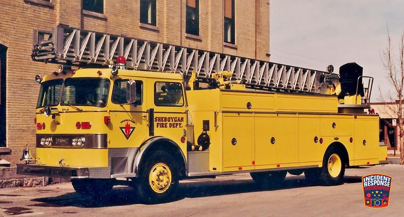 Sheboygan Fire Dept. Ladder Truck 6