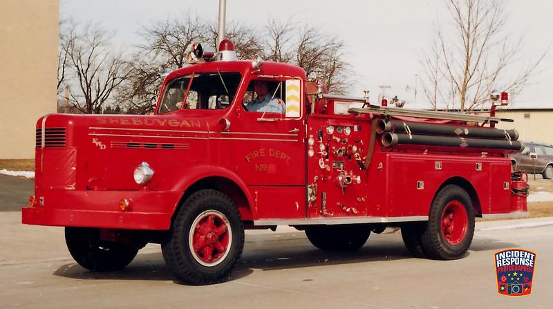 Sheboygan Fire Dept. Engine 6