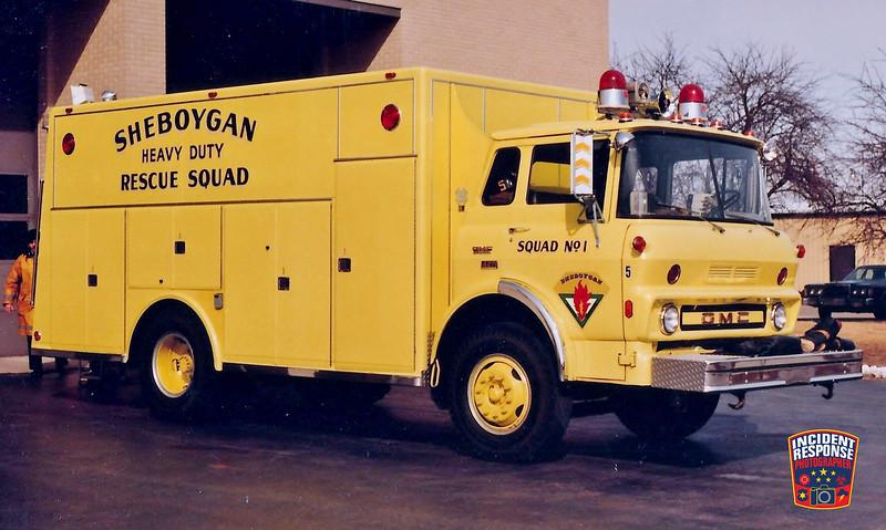 Sheboygan Fire Dept. Rescue 1