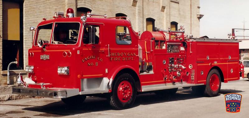 Sheboygan Fire Dept. Engine 1