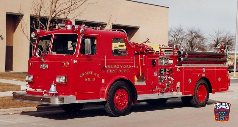 Sheboygan Fire Dept. Engine 3