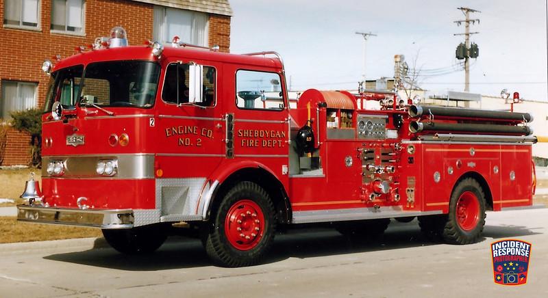 Sheboygan Fire Dept. Engine 2