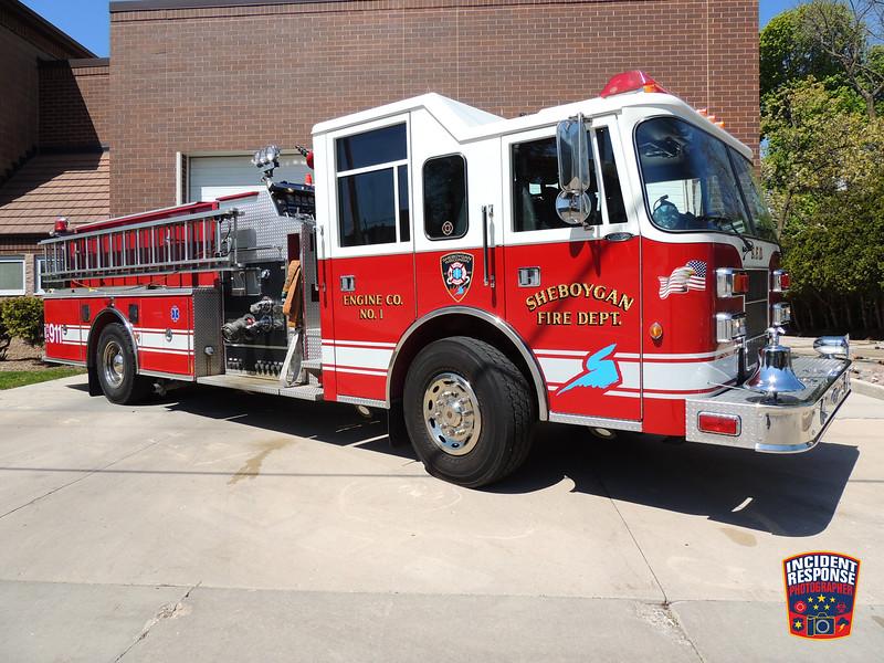 Sheboygan Fire Dept. Reserve Engine 1