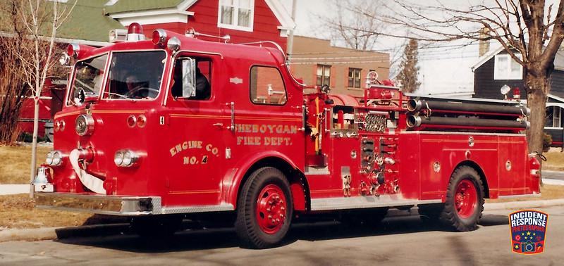 Sheboygan Fire Dept. Engine 4