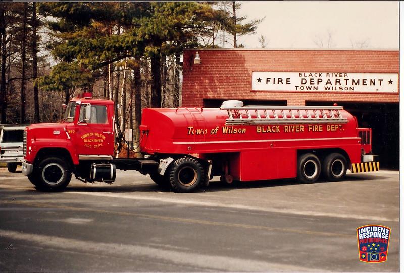 Town of Wilson Fire Dept. Tanker 2
