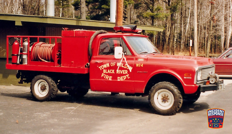 Town of Wilson Fire Dept. Brush Truck 4