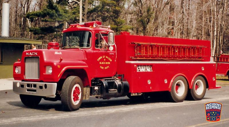 Town of Wilson Fire Dept. Tanker 3