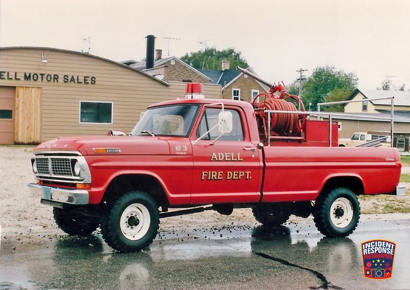 Adell Fire Dept. Brush Truck 3