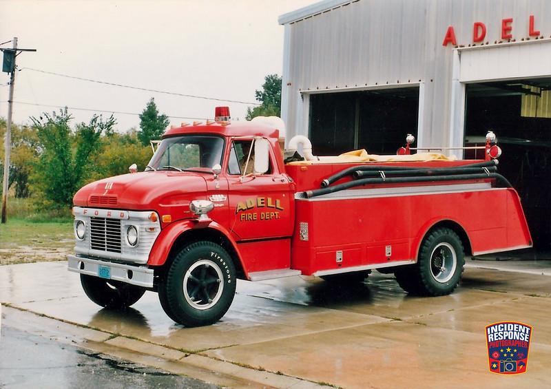 Adell Fire Dept. Tanker 2