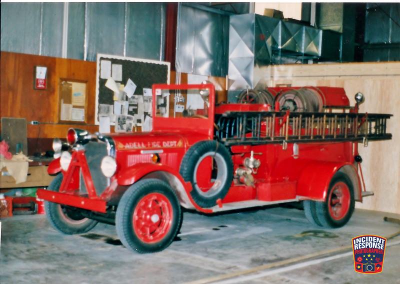Adell Fire Dept. Parade Engine