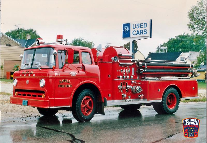 Adell Fire Dept. Engine 1