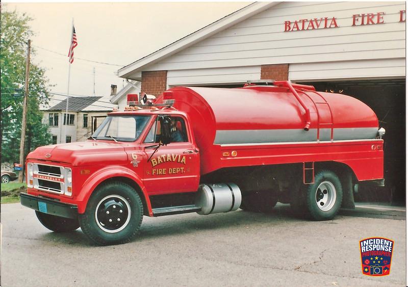 Batavia Fire Dept. Tanker 6