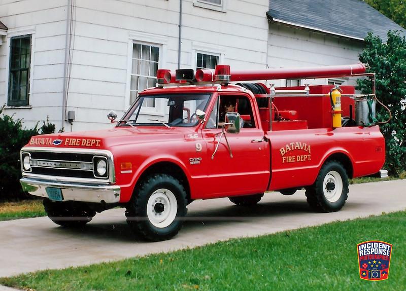 Batavia Fire Dept. Brush Truck 9