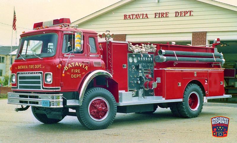 Batavia Fire Dept. Engine 10