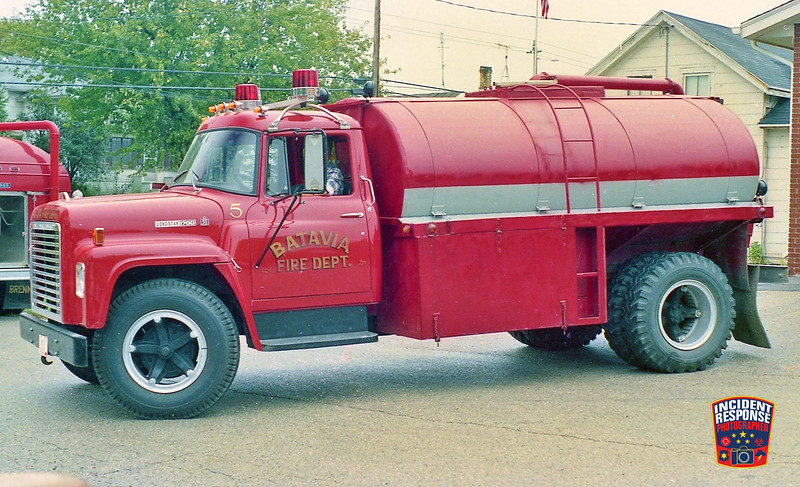 Batavia Fire Dept. Tanker 5