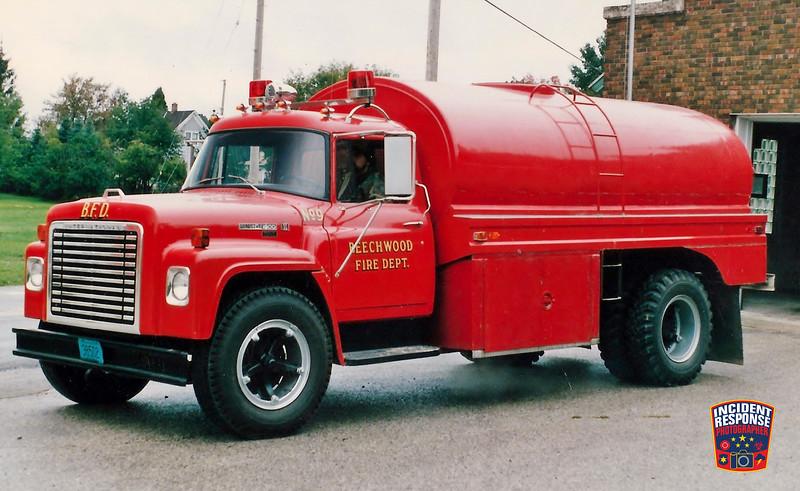 Beechwood Fire Dept. Tanker 9
