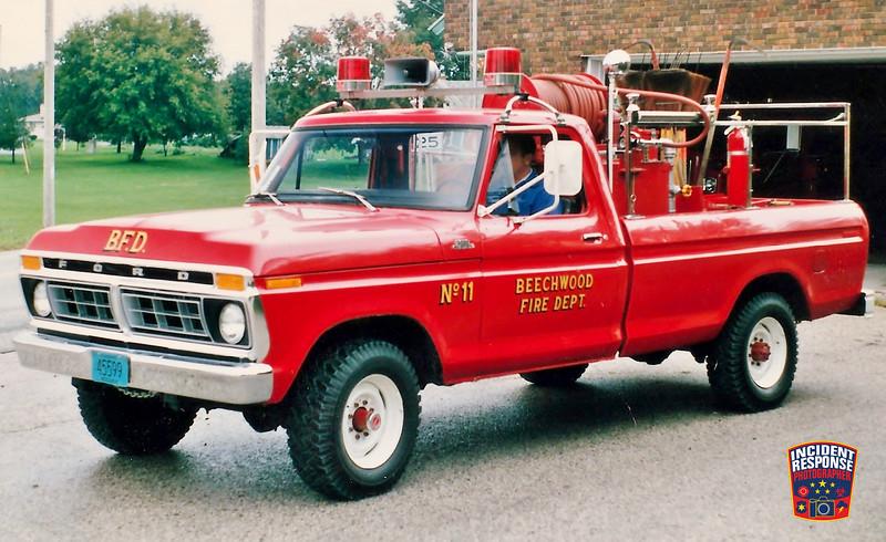 Beechwood Fire Dept. Brush Truck 11