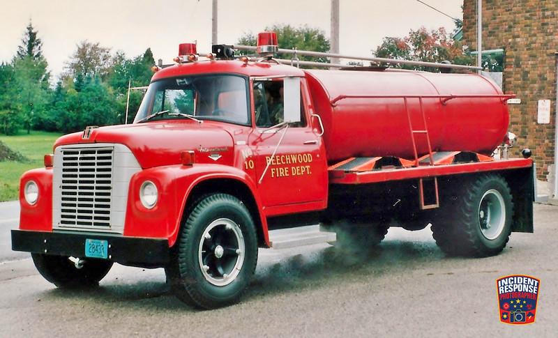 Beechwood Fire Dept. Tanker 10