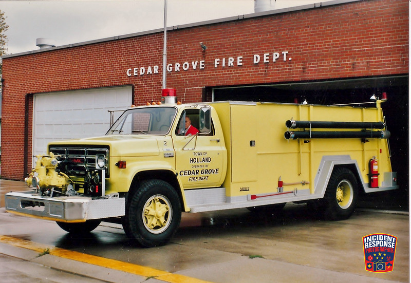 Cedar Grove Fire Dept. Tanker 92