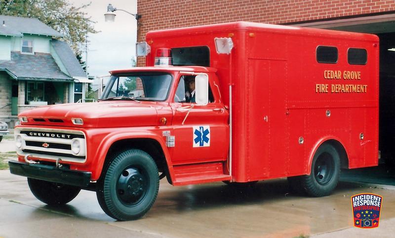 Cedar Grove Fire Dept. Squad 94
